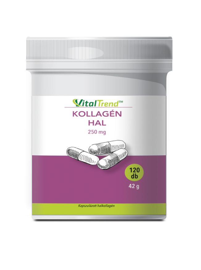 Collagen hal kollagén kapszula - caps